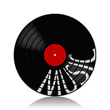 Vinyl record-LP music