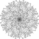 Christmas mandala decoration