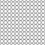 Geometric seamless grating background, vector illustration.