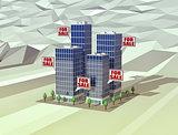 real estate markey, concept