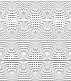 Seamless diamonds 3D pattern. Zigzag lines texture.