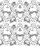 Seamless diamonds 3D pattern. Zigzag lines texture.
