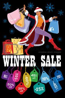 Winter seasonal sale