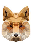 Fox-low-poly