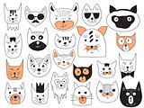 Vector Cats Collection