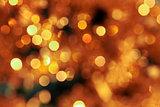 Yellow glow blur