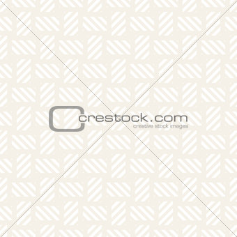 Crosshatch vector seamless geometric pattern. Crossed graphic rectangles background. Checkered motif. Seamless subtle texture of crosshatched lines. Trellis simple fabric print.