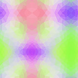 vector abstract irregular polygon background with a triangle pattern in light baby pastel colors