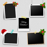 Photo Frame With Xmas Décor Collection