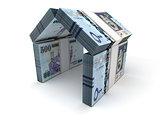 Real Estate Concept Saudi Arabian Riyals