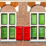 Architectural detail in Alkmaar