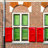 Architectural detail in Alkmaar