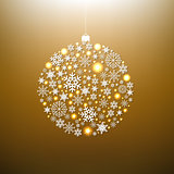 Christmas Gold Ball