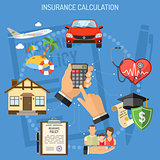 Insurance Services Calculation