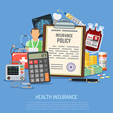 Health Insurance Services Concept