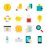 Bitcoin Cryptocurrency Objects