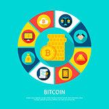 Bitcoin Money Concept