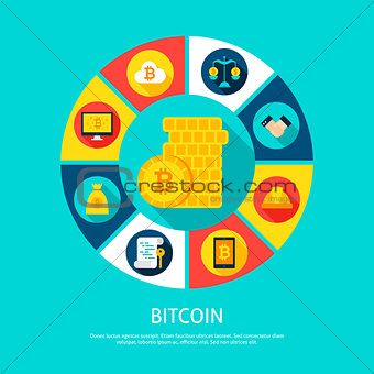 Bitcoin Money Concept