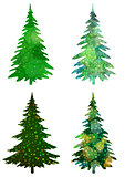 Christmas Trees, Set