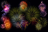 Bonfire Night - fireworks displays in London