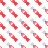 Stripes and arrows seamless pattern