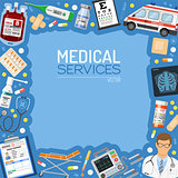 Medical Services Banner and Frame