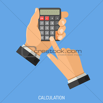 Calculation and Counting Concept