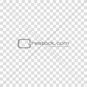Gray white cage square grid transparent seamless background