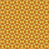 Seamless pattern braided gold ribbon