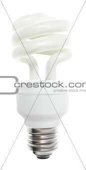 Powersave lamp on White Background. Vector Illustration.