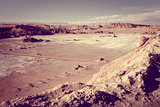 Valle de la Luna in San Pedro de Atacama, Chile