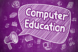 Computer Education - Business Concept.
