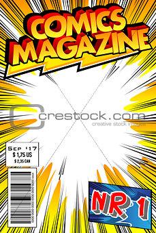 Comic book cover.