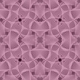 Abstract pink crocheted pattern