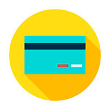 Credit Card Circle Icon