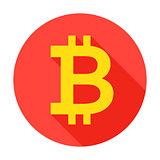 Bitcoin Circle Icon