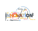 Innovation text banner