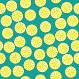 Lemon fruit pattern yellow and green