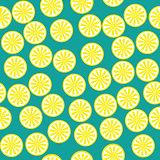 Lemon fruit pattern yellow and green