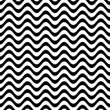 Website vector seamless wavy line pattern