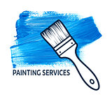 Vector concept for house painting services