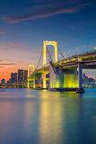 Rainbow Bridge, Tokyo.
