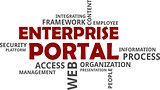 word cloud - enterprise portal