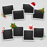 Christmas Photo Frame Set