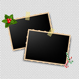 Xmas Retro Photo Frame