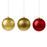Xmas Balls Isolated