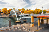 Arch footbridge Passerelle