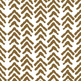 Herringbone rough gold color seamless vector pattern.