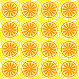 Lemon orange fruit pattern yellow