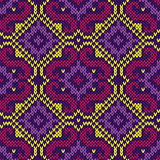 Knitted Ornate Orient Seamless Pattern